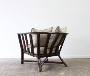 Cooper armchair_Linen_ backLS