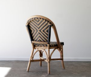 New Orleans side chair_caramel_navy_ backLS