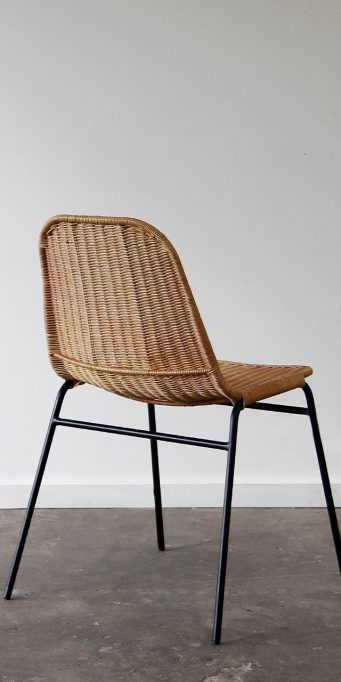 Wicker dining chair_honey_ back_LS