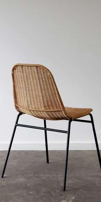 Wicker dining chair_honey_ back_LS