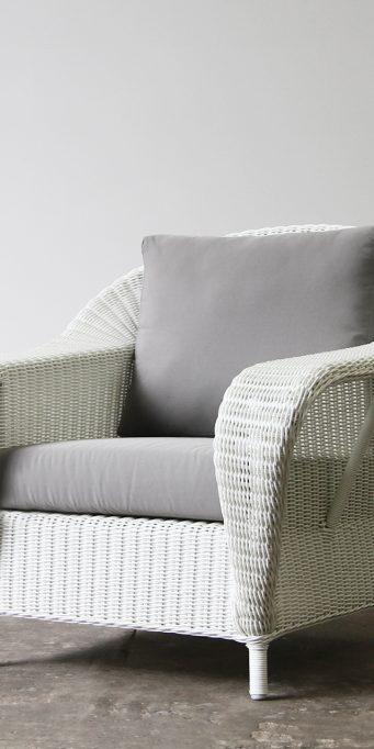 Raffles armchair_White_LS