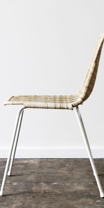 Wicker basket chair side_LS