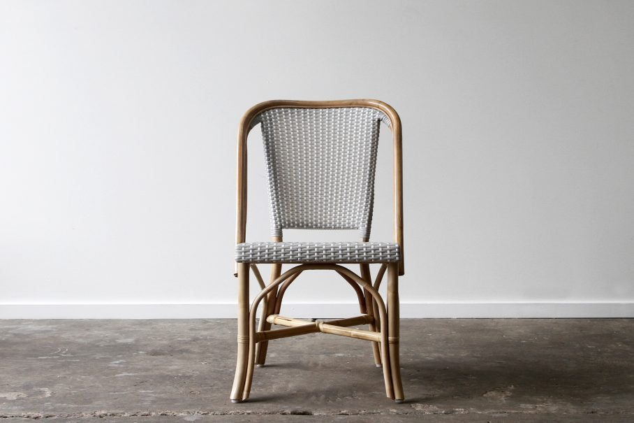 Cafe rattan side chair