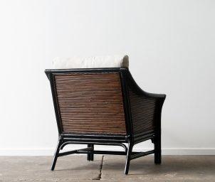 Hartford armchair_black_dark brown wash_back_ls