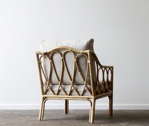 Loop armchair_Natural_back_LS