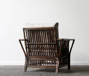 President armchair Brown Wash_backLS