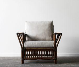 President armchair brown wash_LS