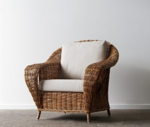 Raffles armchair natural_LS