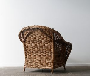 Raffles armchair natural_back_LS