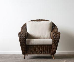 Rafles armchair brown wash_LS
