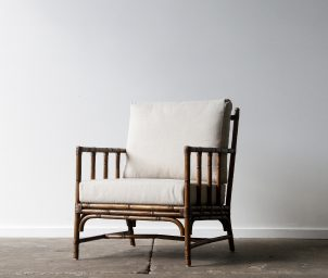 San Carlos armchair Brown wash_LS