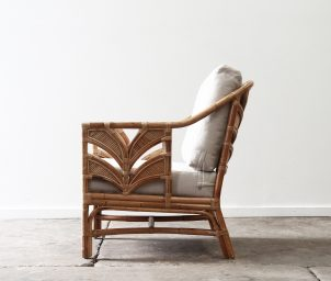 Tropicool armchair_natural side_LS