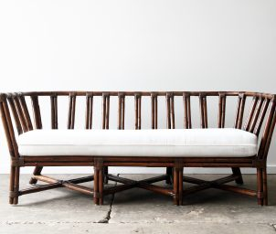 cooper 2.5 seater _ brown wash