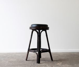 Cuban backless barstool_LS