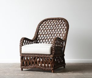 Balmoral armchair_front_LS