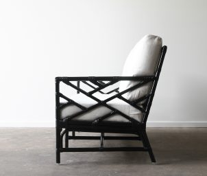 palm Spring armchair black_side_LS