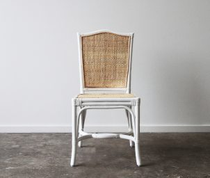 infinity side chair woven seat front_LS